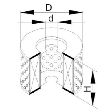 Фильтр маслянный ЭФМ-014 (4310-3407.359-10)