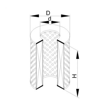 Фильтр маслянный ЭФМ-012 (Р636-1-06)