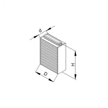Фильтр воздушный ФП 207.1-21 (К-701-1109.100)
