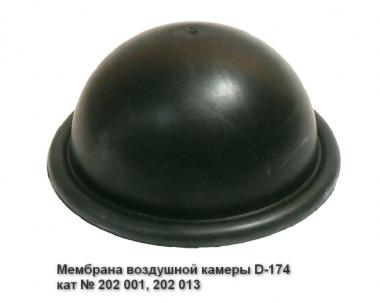 Мембрана воздушной камеры D-174