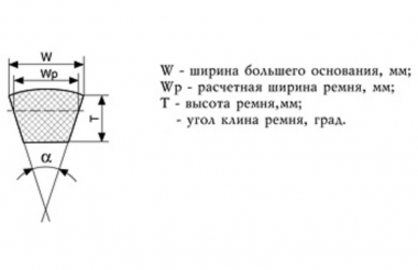 11х10-1045 ремень БЦ