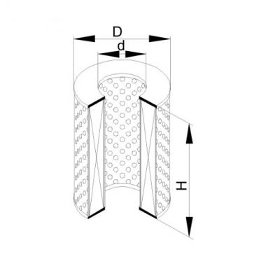 Фильтр маслянный ЭФМ-045 (Р-641-1-06)