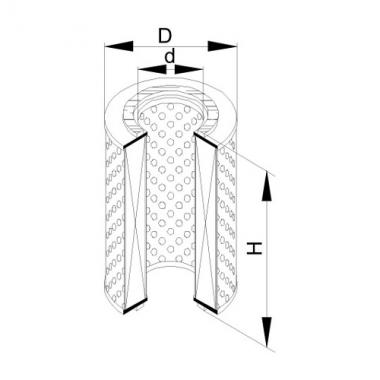 Фильтр маслянный ЭФМ-015 (260.1017060)
