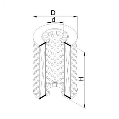 Фильтр топливный ЭФТ-3 (А 44.11.0000)