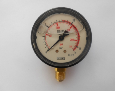 Манометр глицериновый 0-25 атм.